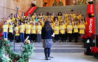 McKinley Choir at Oregon Capitol 2018
