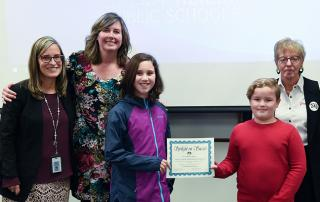 Four-grade Oregon Essay Contest Finalists 2018